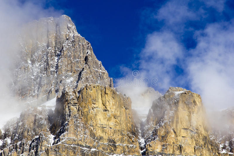 Download Castle Mountain Stock Photo - Image: 22156880