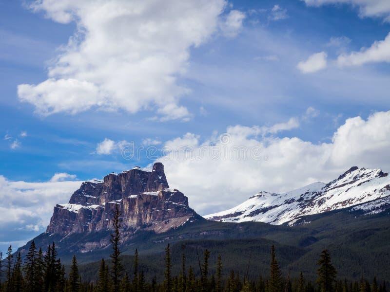 Castle Mountain stock photos