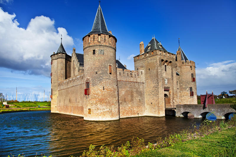 Download Castle Muiderslot - Netherlands Stock Photo - Image: 21599306