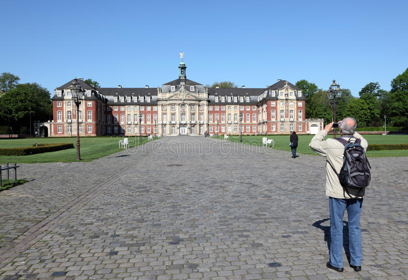 Castle Munster, Γερμανία στοκ φωτογραφίες