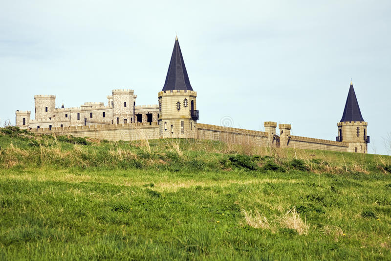 Castle near Lexington royalty free stock image