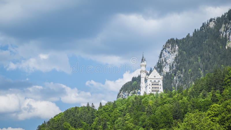 Castle Neuschwanstein Βαυαρία Γερμανία στοκ εικόνα με δικαίωμα ελεύθερης χρήσης