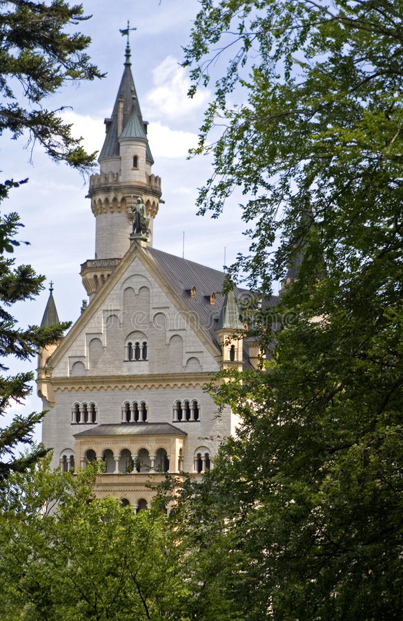Download Castle Neuschwanstein stock image. Image of trees, royalty - 196569