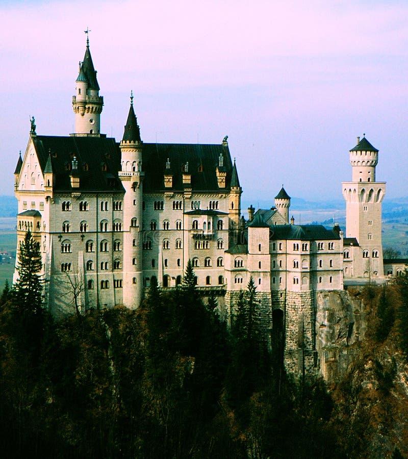 Castle Neuschwanstein royalty free stock photography