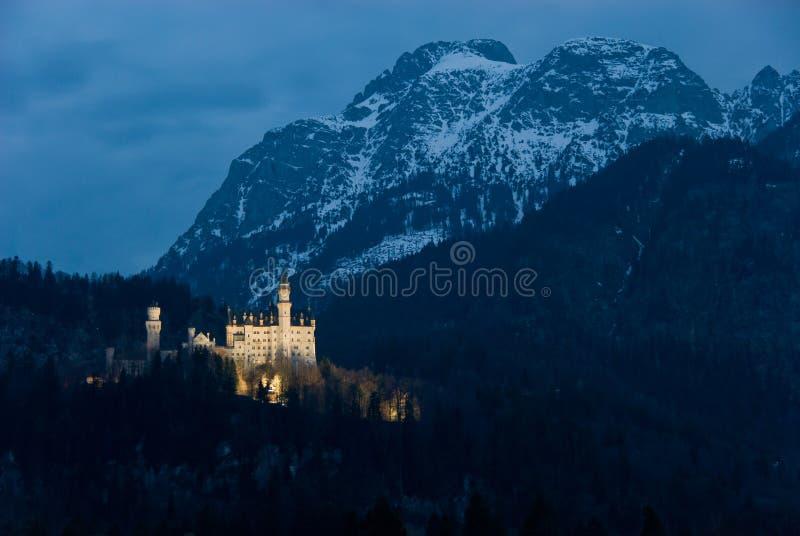 Castle Neuschwanstein stock images