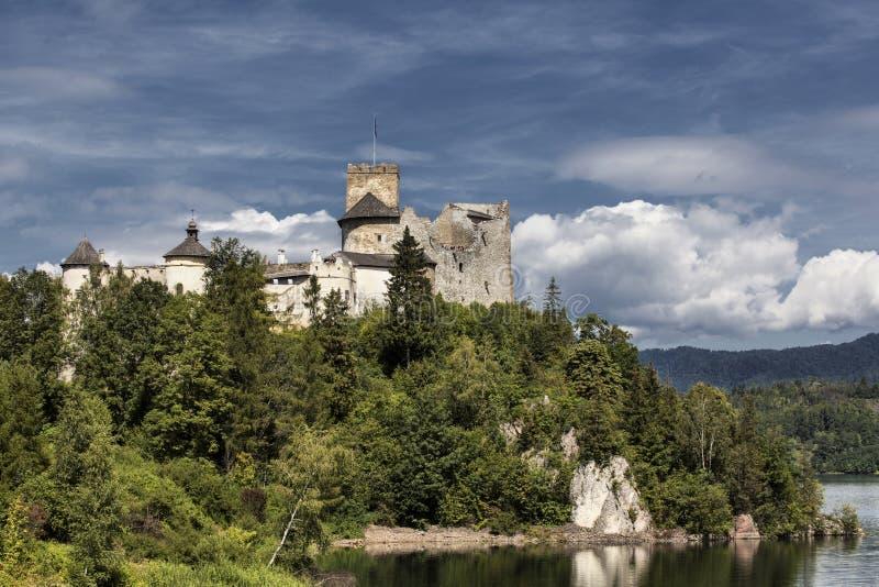 Castle Niedzica in Poland. Europe royalty free stock photo