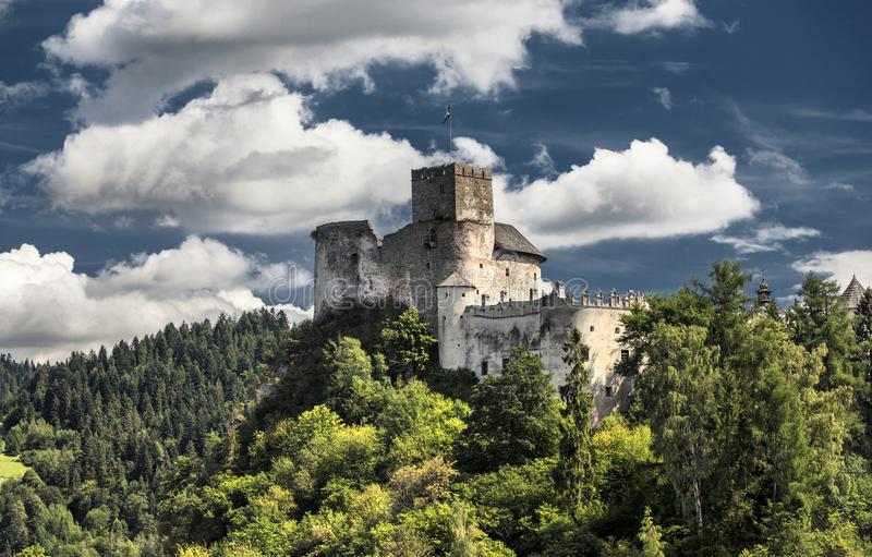 Castle Niedzica in Poland. Europe stock photo