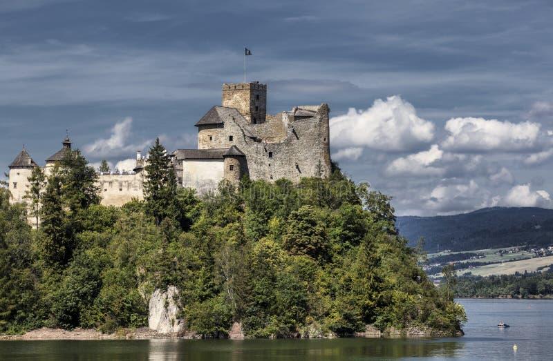 Castle Niedzica in Poland. Europe stock image