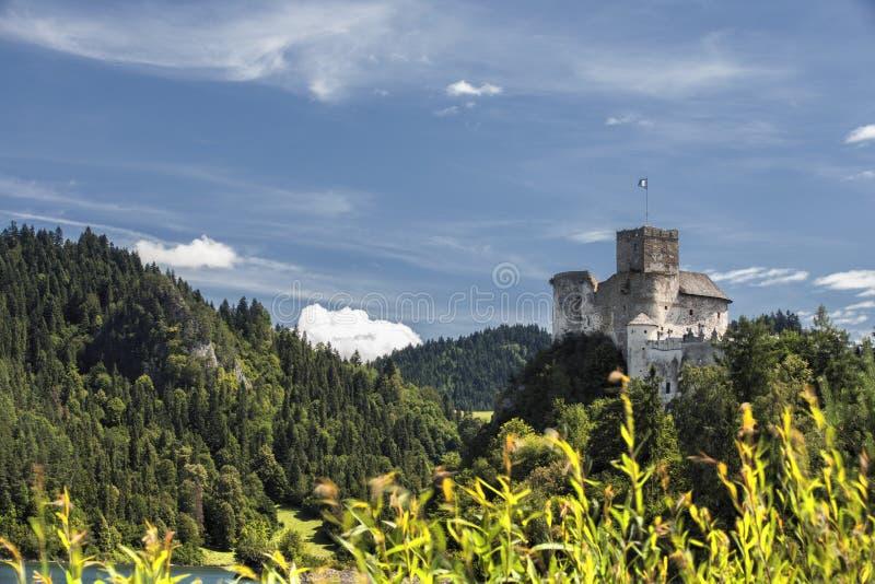 Castle Niedzica in Poland. Europe stock photography