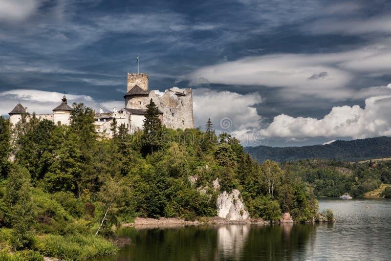 Castle Niedzica in Poland. Europe stock photos