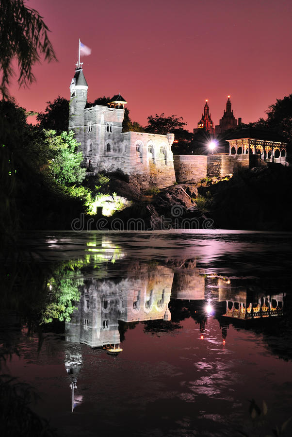 Download Castle at Night stock photo. Image of cliff, antique - 15197682