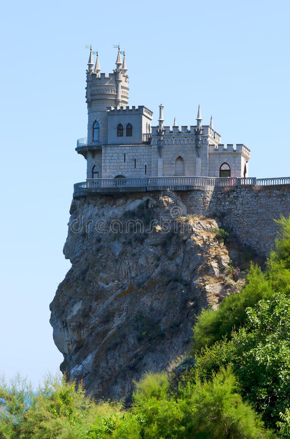 Free Castle On Top Stock Images - 25967634