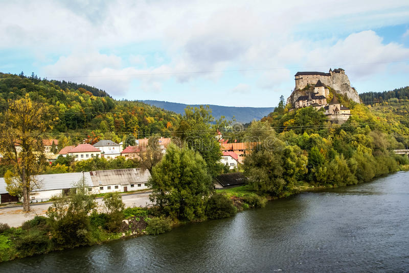 Castle in Orava, Slovakia stock photos