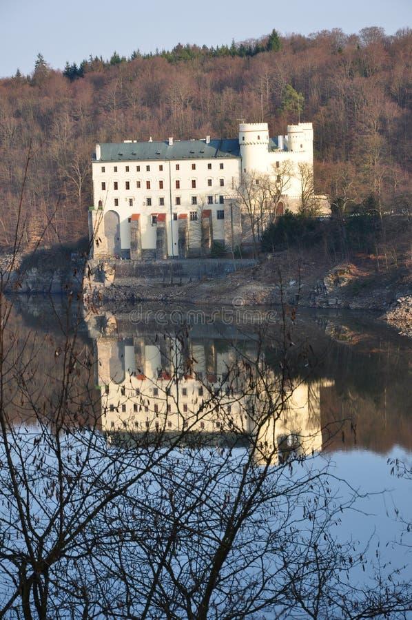 Download Castle Orlik stock photo. Image of bend, forest, defense - 24240042