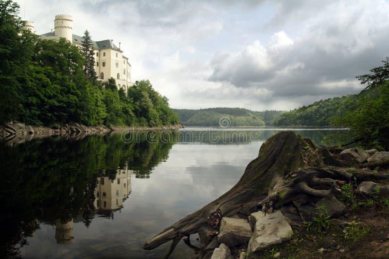 Castle Orlik stock image