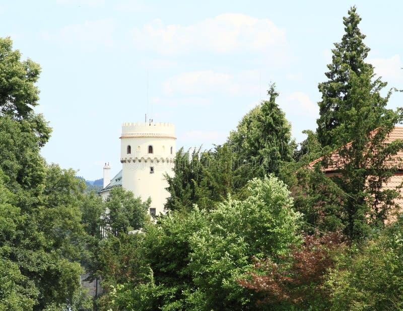 Castle Orlik stock images