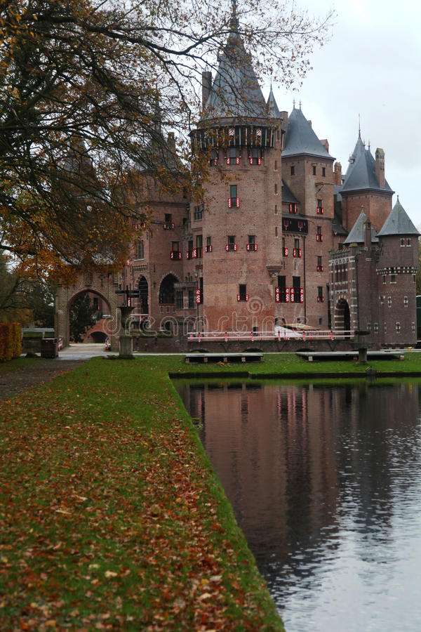 Castle park royalty free stock photo