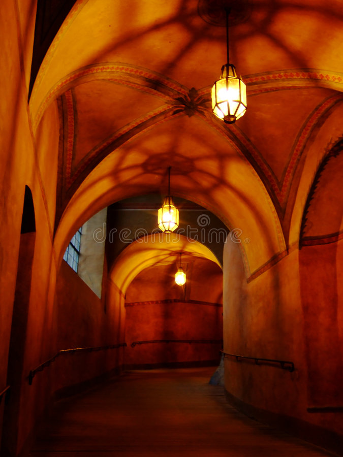 Free Castle Passageway Royalty Free Stock Images - 9282869