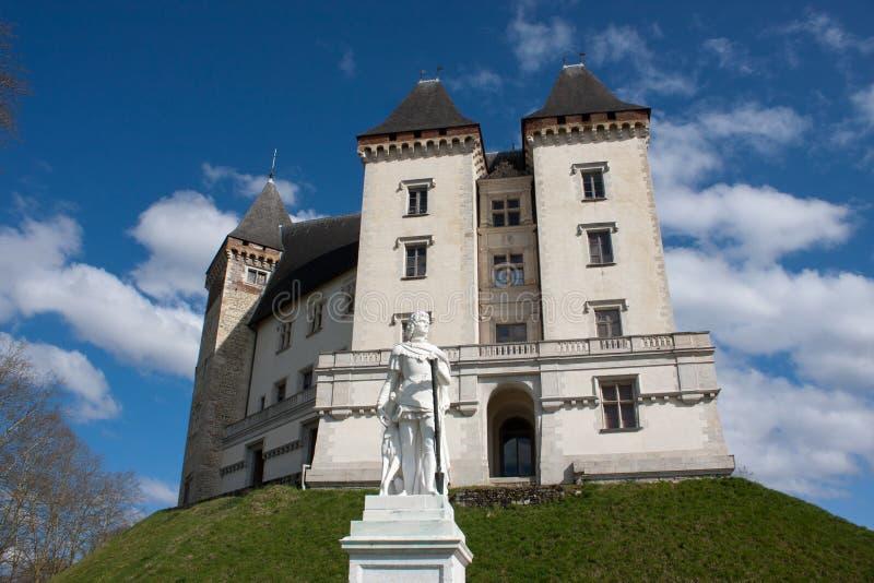 Castle of Pau royalty free stock image