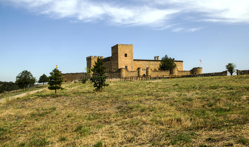 Castle of Pedraza royalty free stock photography