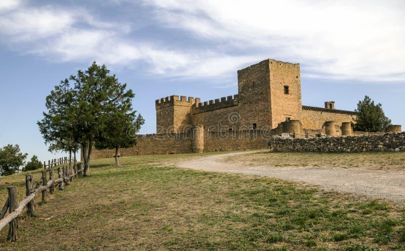 Castle of Pedraza stock image