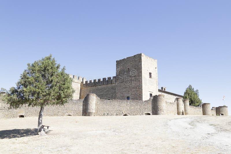 Castle Pedraza Segovia, της Καστίλλης και του Leon, Ισπανία στοκ εικόνα