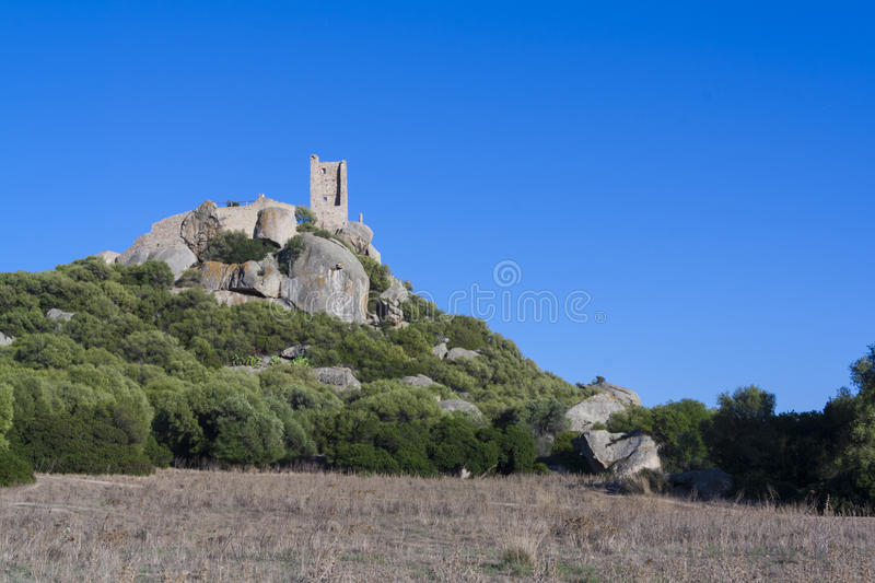 Castle of Pedres stock image