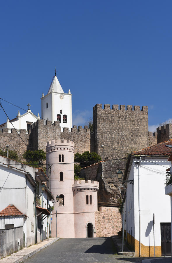 Castle of Penela, Beiras region,. Portugal royalty free stock photography