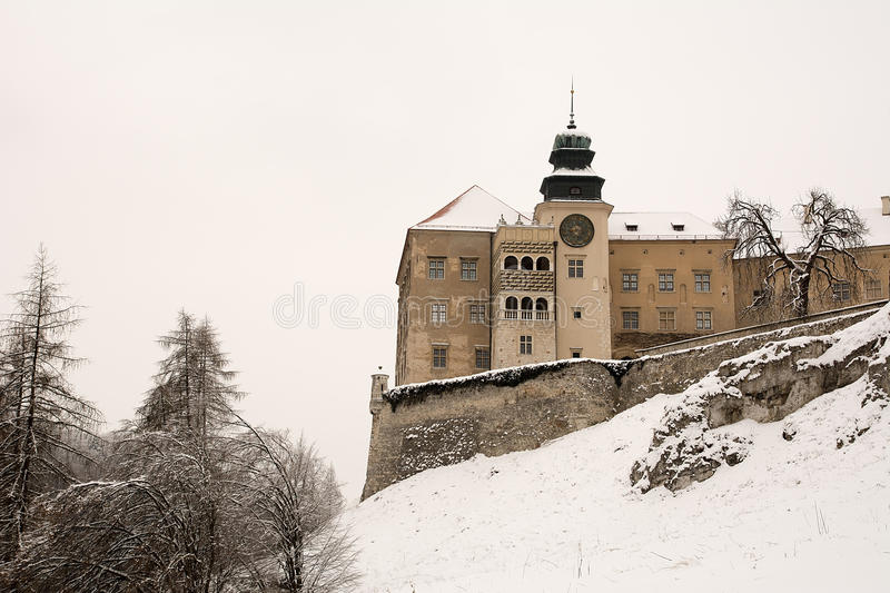 Castle in the Pieskowa Skala (Poland) royalty free stock image