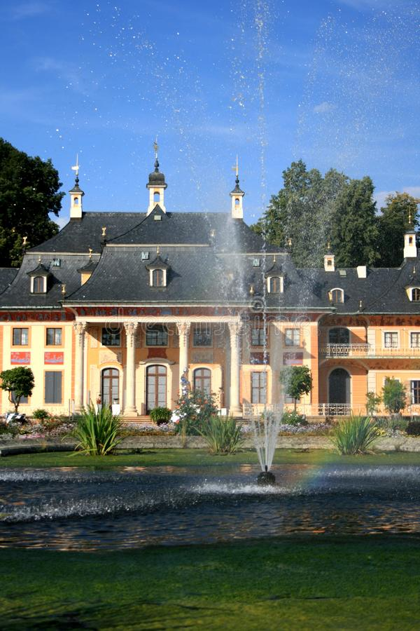 Download Castle in Pillnitz stock image. Image of residence, travel - 8067773