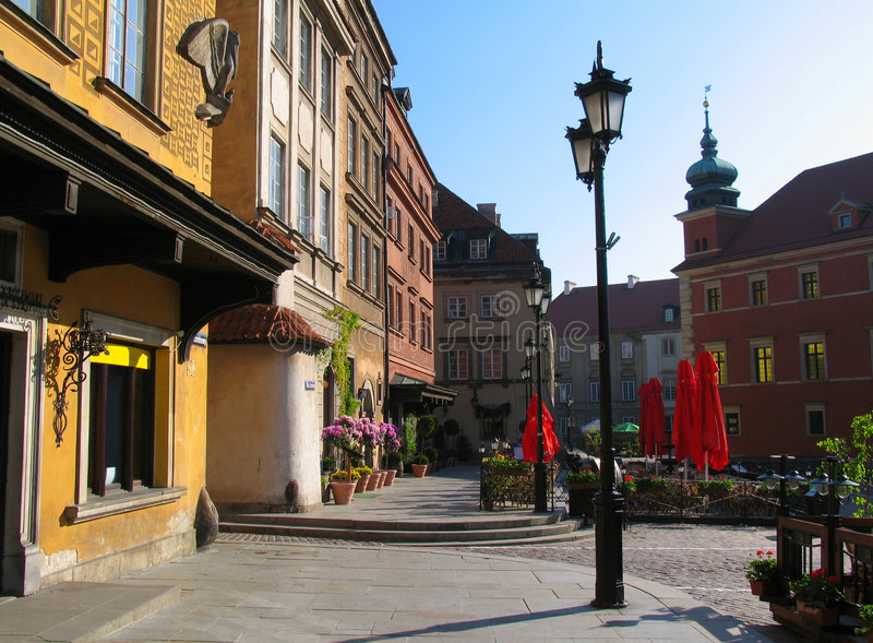 Castle Place. In Warsaw, Poland royalty free stock image