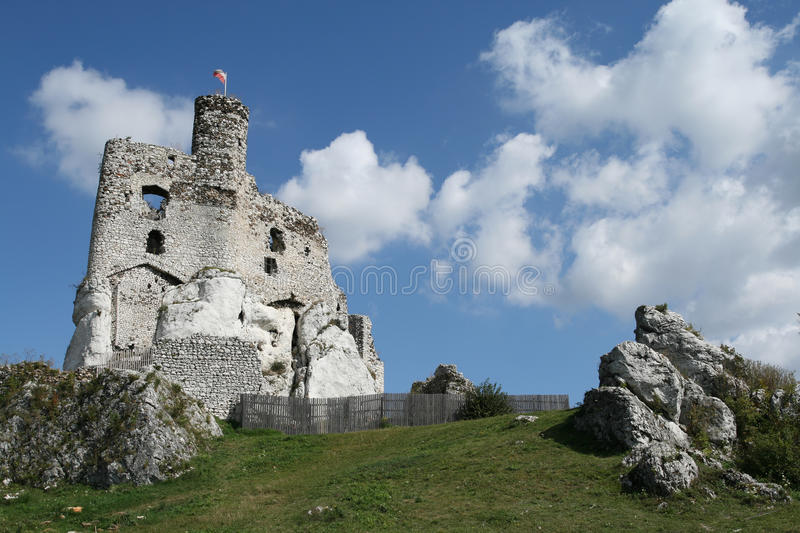 Castle in Poland royalty free stock image