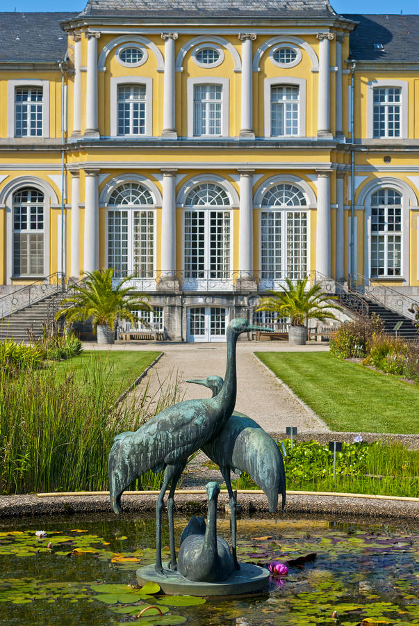 Castle Poppelsdorf royalty free stock photography