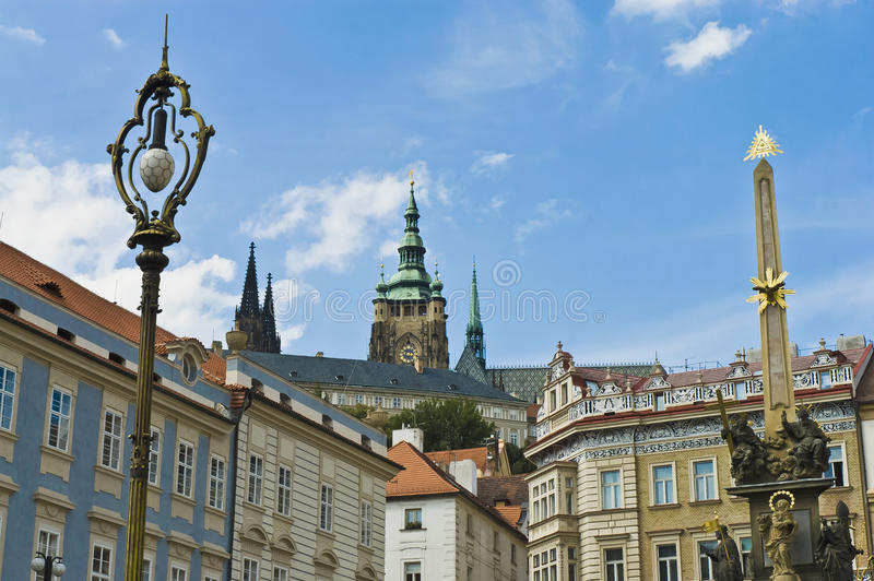 Download Castle Of Prague, Czech Repubic Stock Photo - Image of capital, europe: 39508016