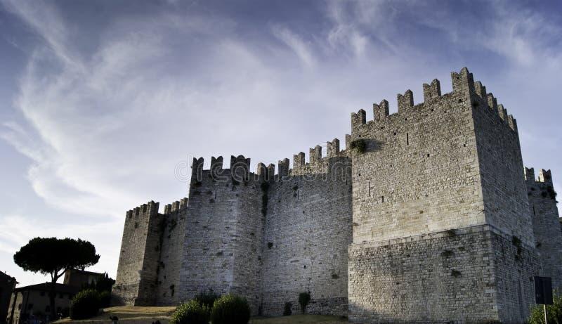 Castle of Prato royalty free stock image
