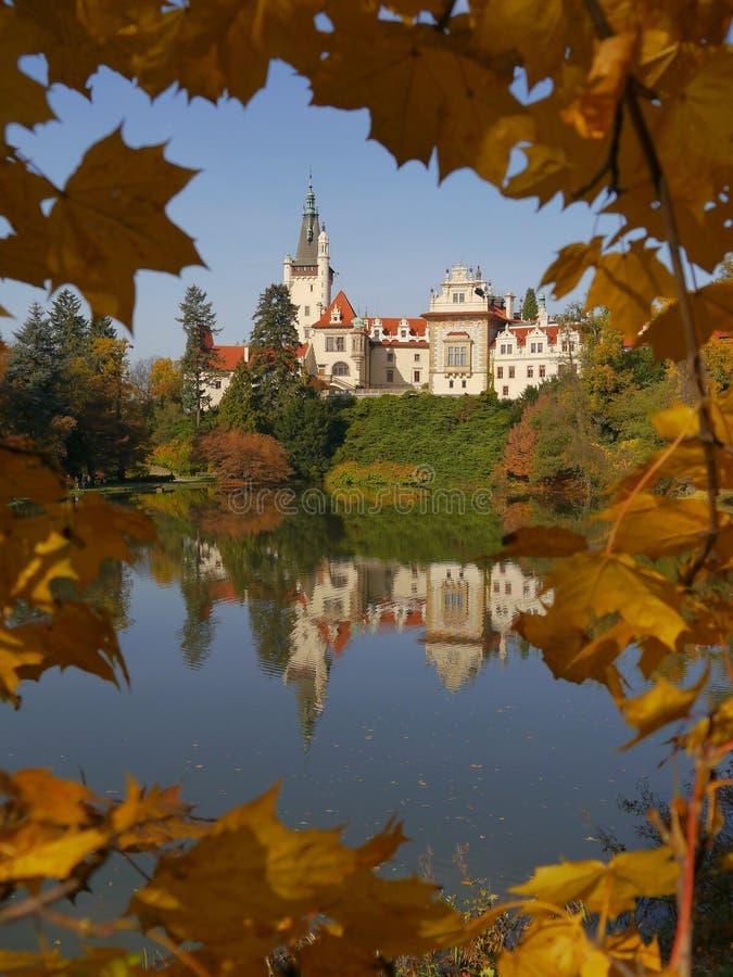 Castle Pruhonice royalty free stock photography