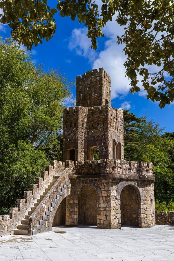 Castle Quinta da Regaleira - Sintra Portugal royalty free stock photo