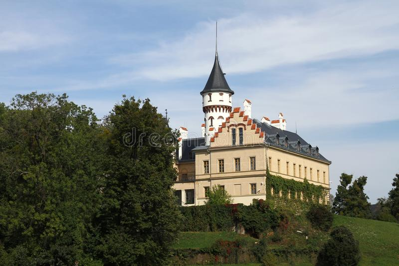 Castle Radun royalty free stock images
