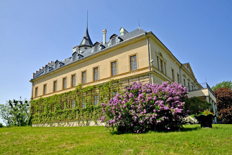 Castle Radun. Is situated in North of Czech Republic stock photo