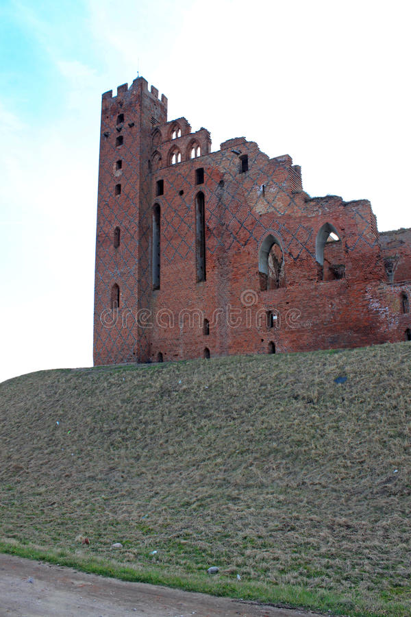 Download Castle In Radzyn Chelminski, Poland Stock Photo - Image of tower, ruins: 39506028