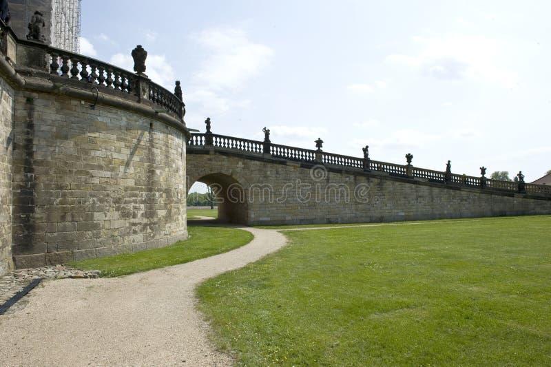 Castle Ramp stock photo