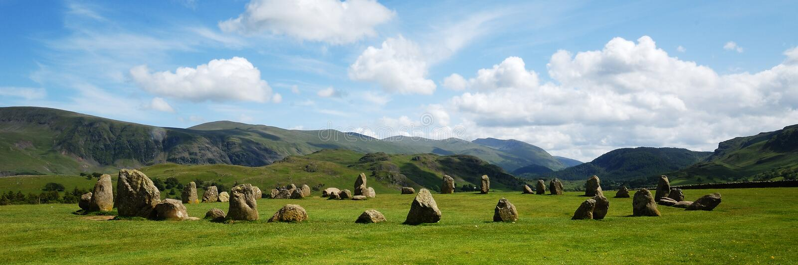 Castle Rigg royalty free stock photography