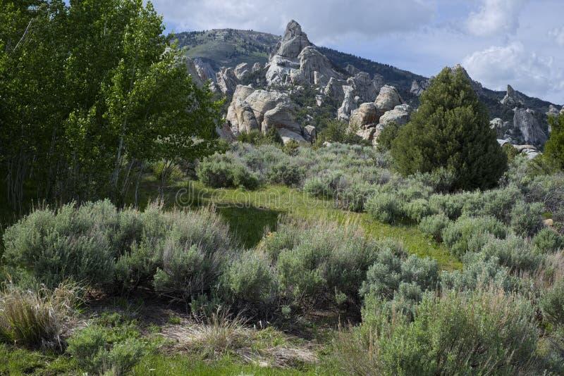 Castle Rocks State Park stock image