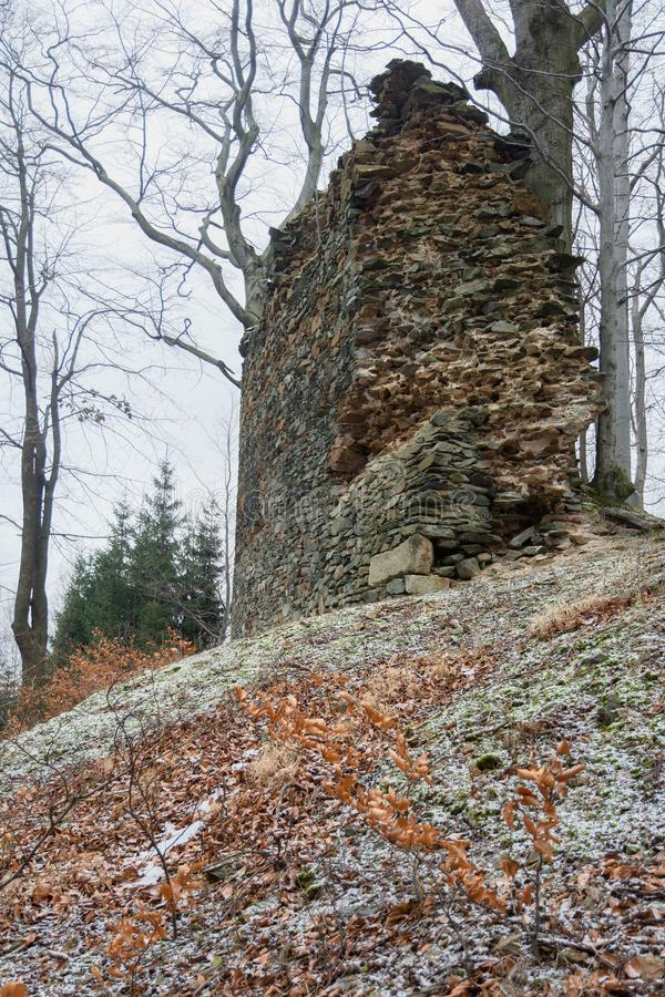 Castle Roimund, Τσεχία στοκ εικόνες με δικαίωμα ελεύθερης χρήσης