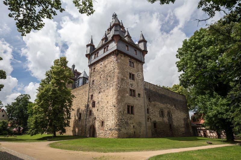 Castle romrod Hesse Γερμανία στοκ εικόνες