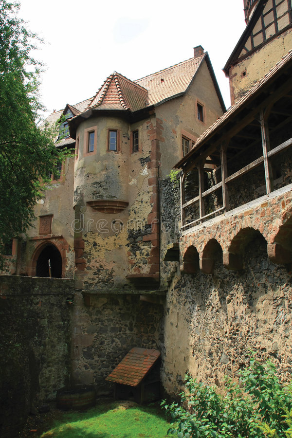 Castle Ronneburg stock images