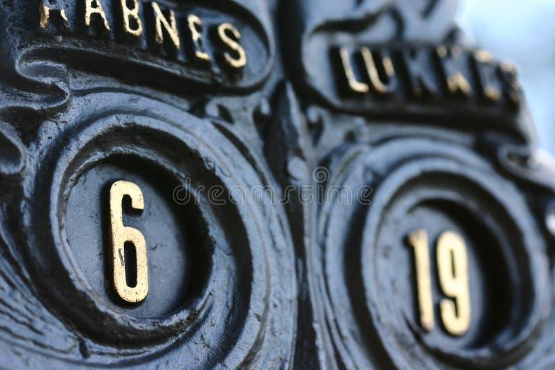 Castle rosenborg detail stock photo