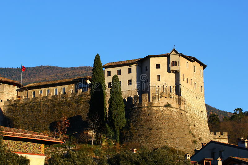 Castle of Rovereto royalty free stock images