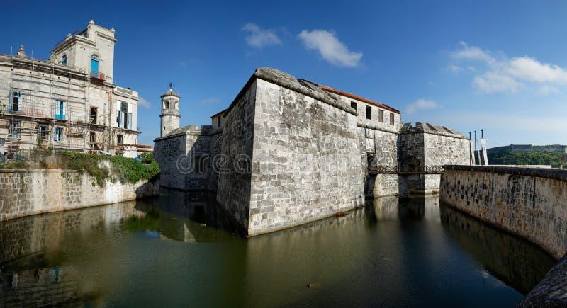 Castle of the Royal Force, Havana, Cuba royalty free stock image