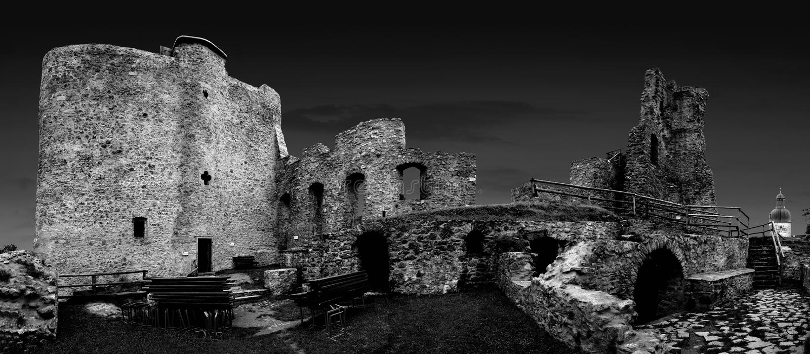Download Castle ruin stock photo. Image of historic, wall, fairytale - 12780084